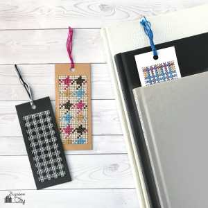 Check and Plaid Bookmarks – Free Cross Stitch Patterns