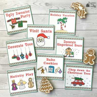 New Children's Calendar Christmas Cards