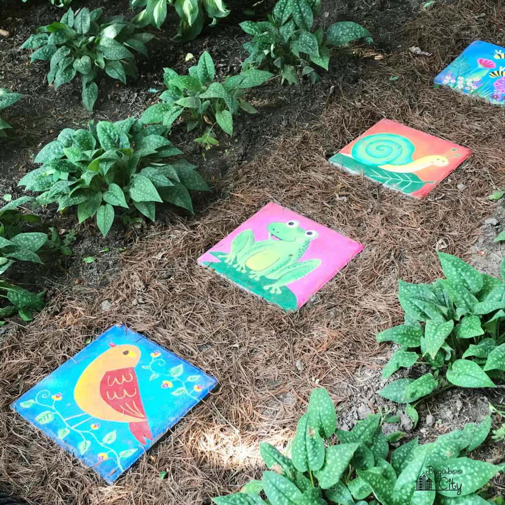 Diy Hand Painted Stepping Stones Bugaboocity