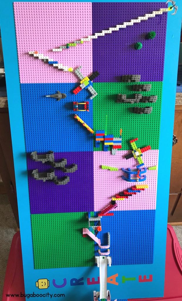 Diy Lego Wall Makerspace Bugaboocity
