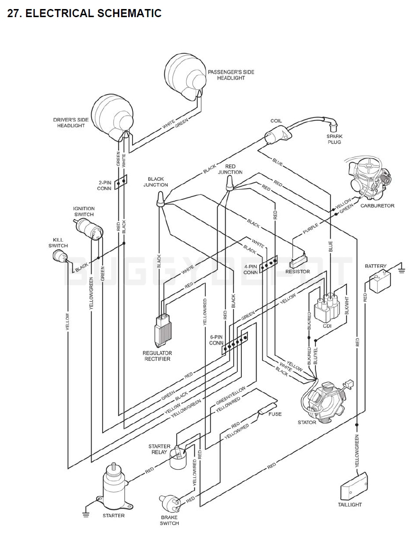 WRG-9829] Kandi 110 Go Kart Wiring Diagram