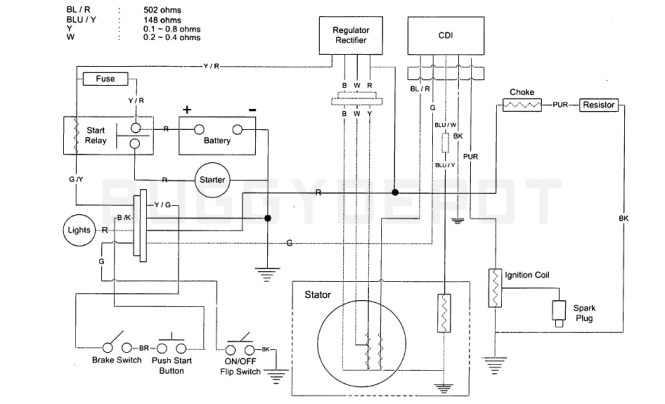 cdi wiring diagram atv wiring diagram gy6 cdi wiring diagram image about