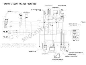 Dazon Raider Classic  Wiring Diagram  Buggy Depot Technical Center