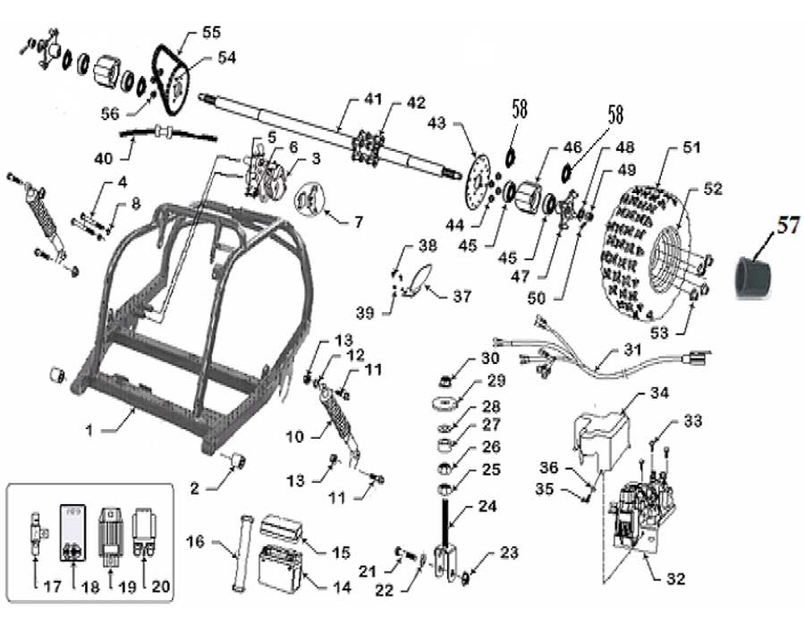 Diagram Diagram 6 Wire Cdi Box Yamaha Diagram Schematic Circuit Iwcc