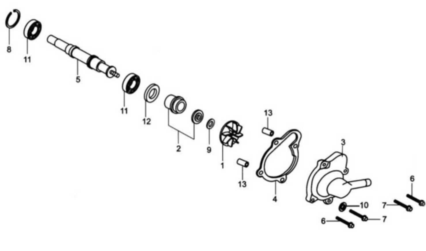 Baja Motorsports Reaction 150 Wiring Diagram