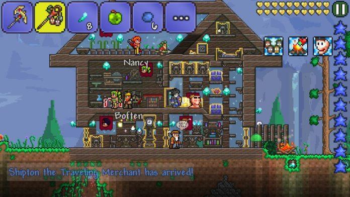 Terraria Multiplayer e Novidades