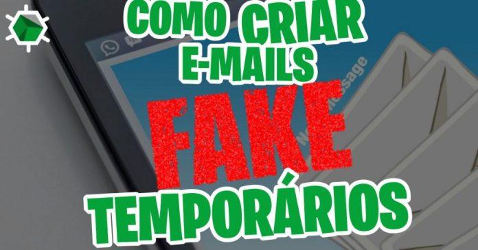 E-mail fake temporário, Veja como criar bem fácil
