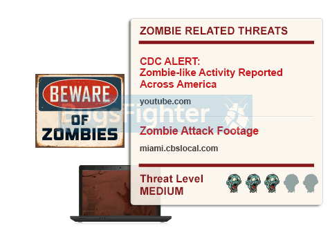 реклама вторжения зомби