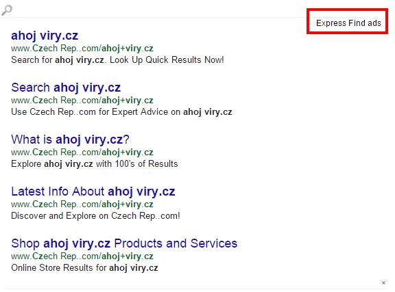 express find ads