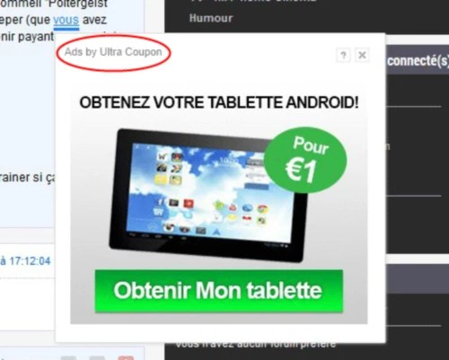 UltraCoupon ads