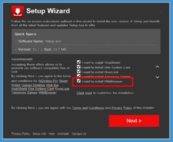 wikibrowser installer