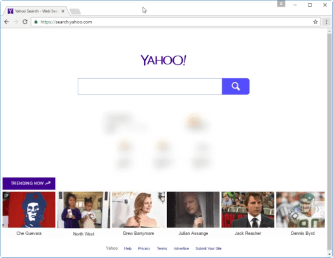 Search.yahoo.com in Chrome on Windows