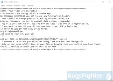 Aurora Ransomware (version 2)