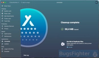 Uninstall Snap Media Player with CleanMyMacX. Step 2