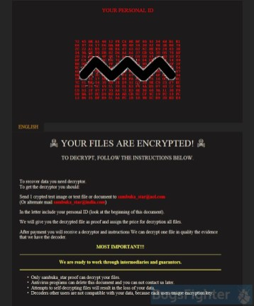 GlobeImposter 2.0 Ransomware (.FORESTGUST extension)