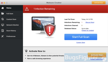Malware Crusher for Mac