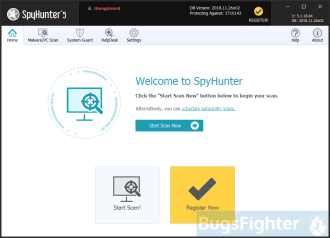 Панель управления SpyHunter 5