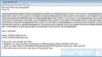 Scarab Ransomware (.enter extension)