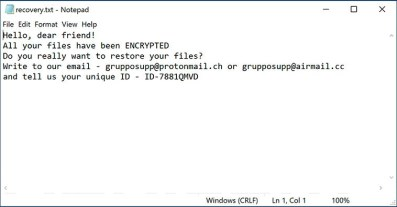 Guesswho Ransomware