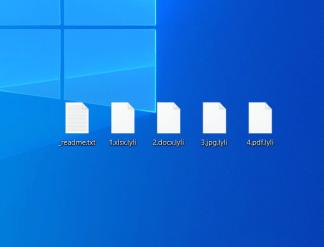 Files got .lyli extensions