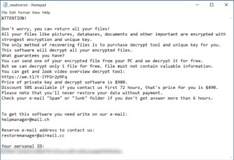 Sglh Ransomware