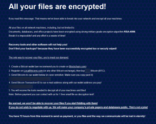 BitPyLock Ransomware (.andradegalvao extension)