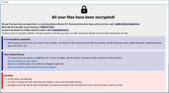 Phobos Ransomware (.eject)