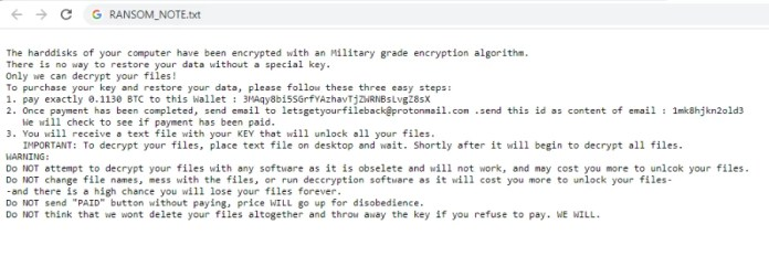 hr (nas) ransomware