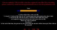 Mr.Dec Ransomware (version 1)