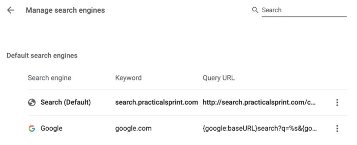 search.practicalsprint.com
