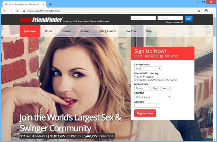 adultfriendfinder.com ads