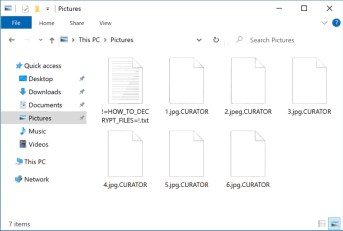 .CURATOR encrypted files