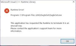 Runtime error (sample 1)