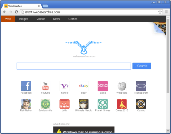 istart.webssearches.com in Mozilla Firefox
