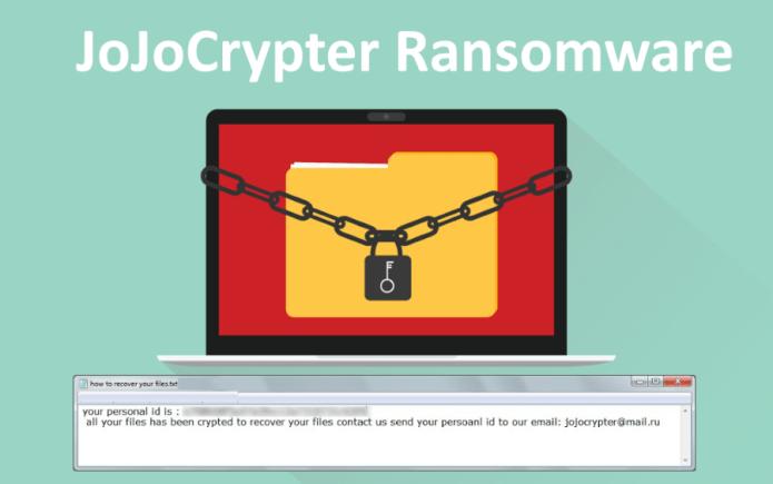 jojocrypter ransomware