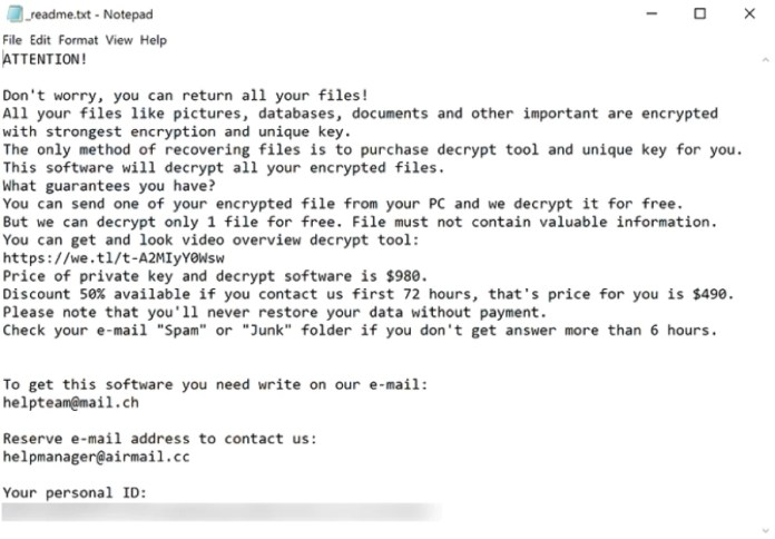 qscx ransomware ransom note
