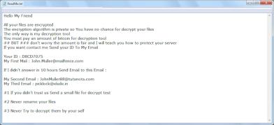 GoodMorning Ransomware (.LOCKED)