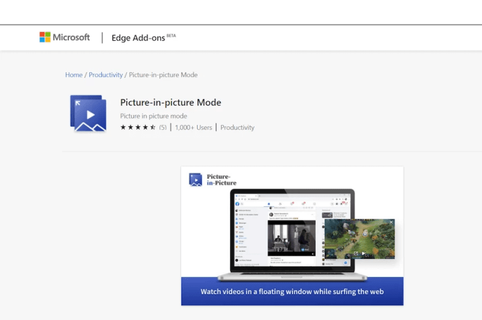 searchanytimeyoulike.com picture-in-picture mode extension