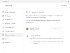 Assistente browser AdGuard