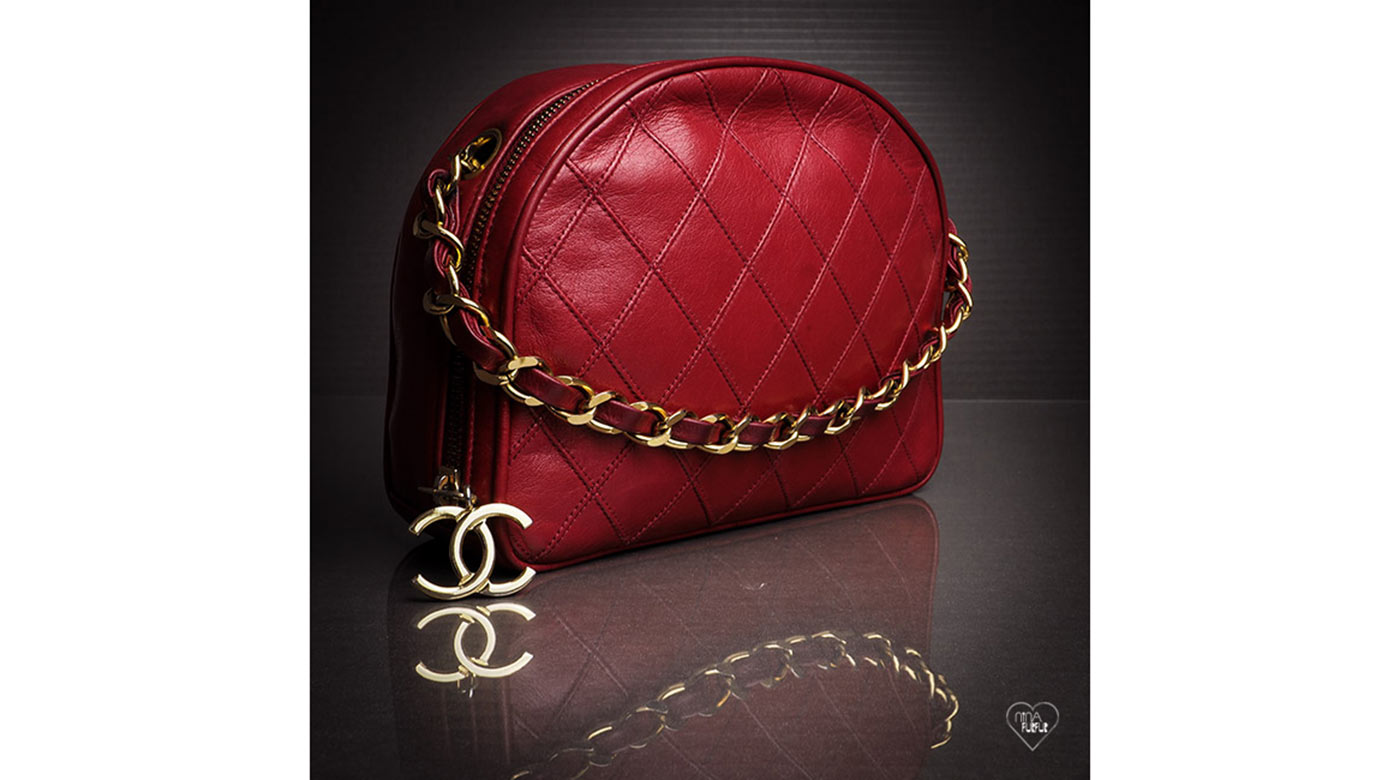 Chanel Red Quilted Bag