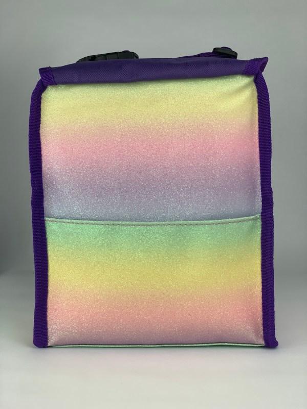 Boxy Lunch Bag rainbow back