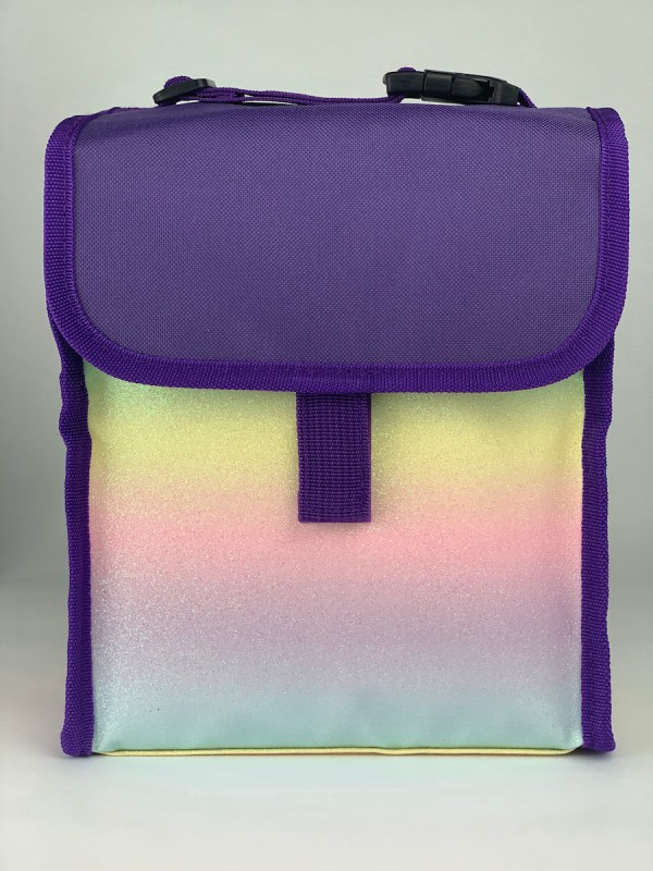 Boxy Lunch Bag rainbow front
