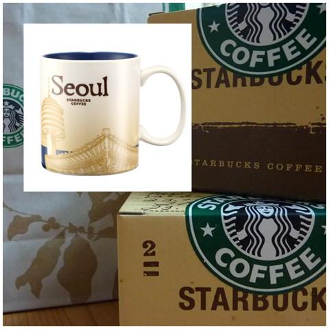 Seoul Starbucks mug