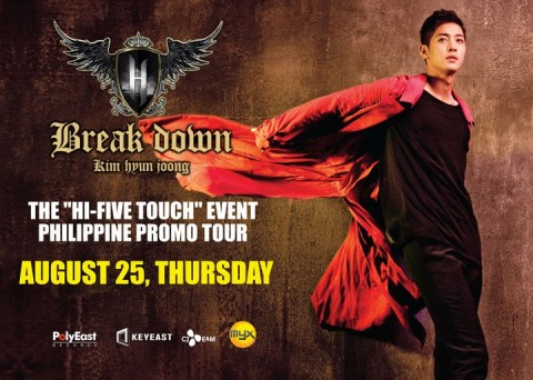 Kim Hyun Joong in the Philippines!