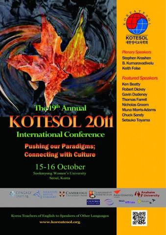 KOTESOL International Conference 2011