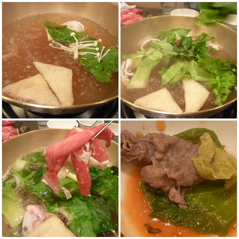 How we cook and eat our shabu-shabu