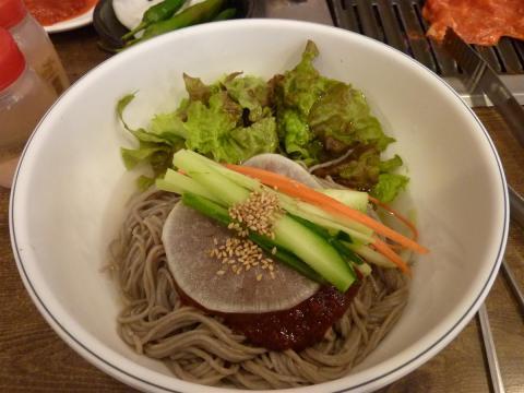 Mak-guksu - a specialty of Gangwon province