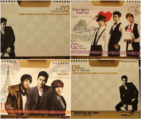 Siwon had the most exposure in the calendar.