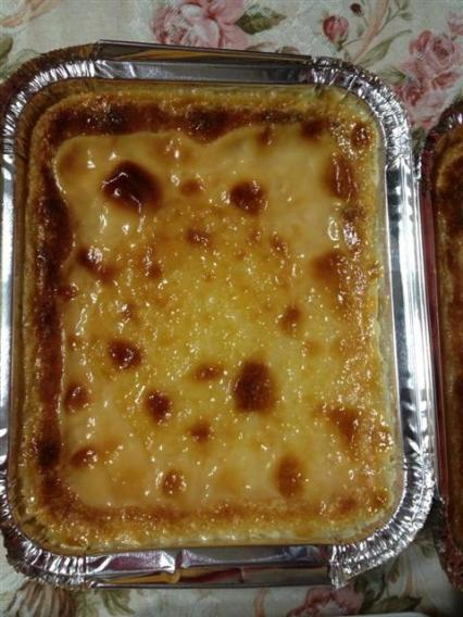 Cassava cake... highly recommended!