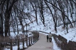 Winter in Namsan...